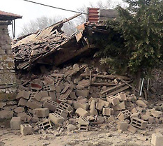 Earthquakes in Denizli - Turkey - 20 March 2019