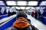 Germany, Monaco: in the tube, train