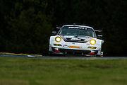 Bryce Miller, Sascha Maassen and Richard Leitz, Paul Miller Racing (GT) Porsche 911 GT3 RSR, Petit Le Mans. Oct 18-20, 2012. © Jamey Price