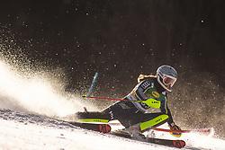 Hanna Aronsson Elfman (SWE)during the Ladies' Slalom at 56th Golden Fox event at Audi FIS Ski World Cup 2019/20, on February 16, 2020 in Podkoren, Kranjska Gora, Slovenia. Photo by Matic Ritonja / Sportida