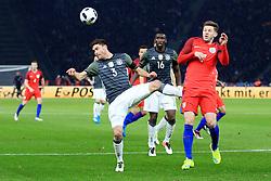 Englands Adam Lallane challenges Germanys Jonas Hector - Mandatory by-line: Matt McNulty/JMP - 26/03/2016 - FOOTBALL - Olympiastadion - Berlin, Germany - Germany v England - International Friendly