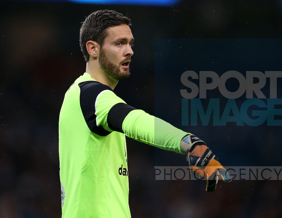 Craig Gordon of Celtic during the Champions League Group C match at the Etihad Stadium, Manchester. Picture date: December 6th, 2016. Pic Simon Bellis/Sportimage