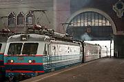 Yaroslavsky railway station. Moscow. Russia