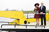 Koningspaar brengt streekbezoek aan regio Eemland