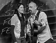 Tony Furtado and Stephanie Schneiderman, Sisters Folk Festival 2011