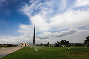 Armenia, Yerevan, Tsitsernakaberd, Museum and Memorial of the 1915 Armenian Genocide