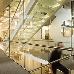 At the Voyages-Sncf.com's offices in the CNIT. Paris La Defense, France. 29 April 2010. Photo: Antoine Doyen