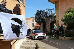 April 7, 2018 - Corse, France - CORSICA Linea - TOUR DE CORSE 2018 Jari Matti LATVALA, Miikka ANTTILA TOYOTA YARIS WRC (Credit Image: © Panoramic via ZUMA Press)