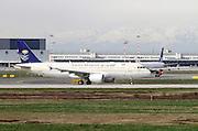 HZ-ASE Saudi Arabian Airlines, Airbus A320-214 at Malpensa airport, Milan, Italy
