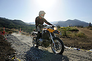Bill Dragoo on 2007 BMW R1200GS motorcycle at 2008 Rawhyde Adventure Challenge competition.