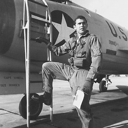 George W. Bush at Ellington Field, Houston with the 147th Fighter Interceptor Group. c. 1970-1971  ©TANG