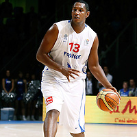 27 August 2011: Boris Diaw is seen during the friendly game won 74-44 by France over Belgium, in Lievin, France.