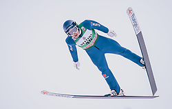 11.01.2020, Stadio del Salto, Predazzo, ITA, FIS Weltcup Nordische Kombination, Skisprung, im Bild Manuel Faisst (GER) // Manuel Faisst (GER) during Skijumping Competition of FIS Nordic Combined World Cup at the Stadio del Salto in Predazzo, Italy on 2020/01/11. EXPA Pictures © 2020, PhotoCredit: EXPA/ JFK