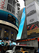 Times Square with Neon and other large displays, New York City 2011