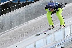November 19, 2017 - Wisla, Poland - Maciej Kot (POL), competes in the individual competition during the FIS Ski Jumping World Cup on November 19, 2017 in Wisla, Poland. (Credit Image: © Foto Olimpik/NurPhoto via ZUMA Press)