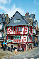 France, Finistère (29), Morlaix, place Allende // France, Briitany, Finistere, Morlaix, Allende Square