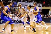 DESCRIZIONE : Forli DNB Final Four 2014-15 Npc Rieti BCC Agropoli<br /> GIOCATORE : Nicolas Manuel Stanic<br /> CATEGORIA : palleggio <br /> SQUADRA : Npc Rieti<br /> EVENTO : Campionato Serie B 2014-15<br /> GARA : Npc Rieti BCC Agropoli<br /> DATA : 13/06/2015<br /> SPORT : Pallacanestro <br /> AUTORE : Agenzia Ciamillo-Castoria/M.Marchi<br /> Galleria : Serie B 2014-2015 <br /> Fotonotizia : Forli DNB Final Four 2014-15 Npc Rieti BCC Agropoli