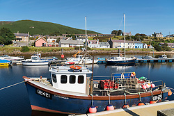 Harbour at Helmsdale in Scotland, Sutherland,United Kingdom