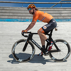 23-07-2020: Wielrennen: baantraining: Assen<br />Training KNWU baanploeg duur Roy Pieters