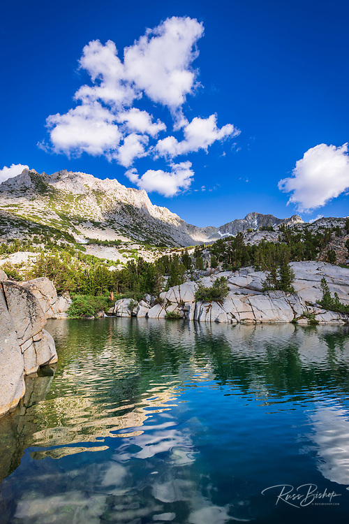 Treasure Lake, John Muir Wilderness, Sierra Nevada Mountains, California USA