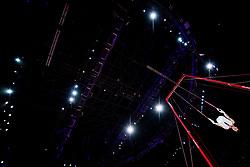 August 9, 2018 - Glasgow, UNITED KINGDOM - 180809 Karl IdesjÅ¡ of Sweden competes at the rings in the qualification of Men's Artistic Gymnastics during the European Championships on August 9, 2018 in Glasgow..Photo: Jon Olav Nesvold / BILDBYRN / kod JE / 160290 (Credit Image: © Jon Olav Nesvold/Bildbyran via ZUMA Press)
