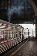 Yaroslavsky railway station, Moscow. Russia