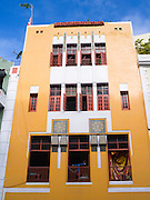 Colorful building facade, Old San Juan/Viejo San Juan.
