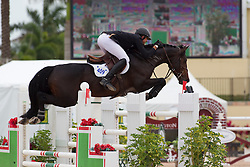 Charlie Jayne (USA) - Chill R Z<br /> Horseware GP CSI 2*<br /> Wellington 2012<br /> © Hippo Foto - Cealy Tetly