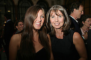 Olivia Sudjic and Sarah Miller, 10th Anniversary of Conde Nast Traveller magazine. Foreign and Comonwealth Office. Durbar Court. 10 September 2007. -DO NOT ARCHIVE-© Copyright Photograph by Dafydd Jones. 248 Clapham Rd. London SW9 0PZ. Tel 0207 820 0771. www.dafjones.com.