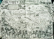 Old map of Tibet