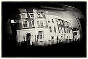 Car reflections, Crystal Palace, South London