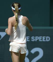 March 21, 2018 - Key Biscayne, Florida, United States Of America - KEY BISCAYNE, FL - MARCH 21: Victoria Azarenka of Belarus Defeats CiCi Bellis of the United States during the Miami Open on March 21, 2018 in Key Biscayne, Florida....People:  CiCi Bellis. (Credit Image: © SMG via ZUMA Wire)