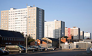 High rise flats, Anlaby Road, Hull, Yorkshire, England