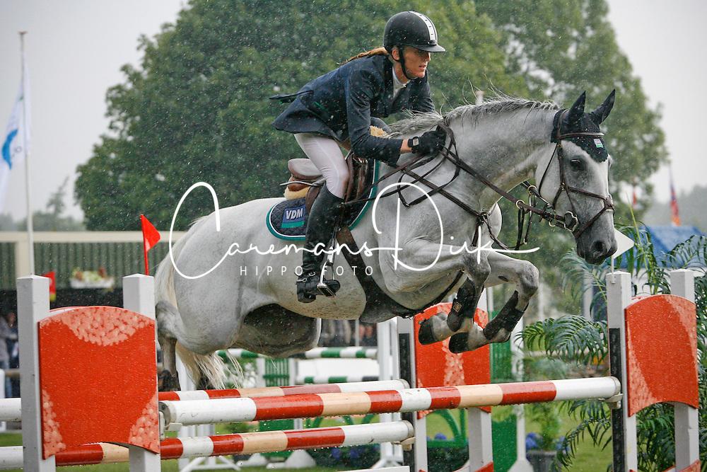 Van Der Mei Nathalie (NED) - Heechhiems Tsjarina<br /> KWPN paardendagen - Ermelo 2007<br /> Photo © Hippo Foto