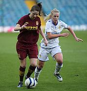 Leeds United Ladies v Manchester City Ladies FC 020513