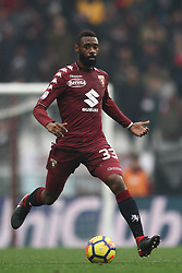 January 6, 2018 - Turin, Italy - Torino defender Nicolas N'Koulou (33) in action during the Serie A football match n.20 TORINO - BOLOGNA on 06/01/2018 at the Stadio Olimpico Grande Torino in Turin, Italy. (Credit Image: © Matteo Bottanelli/NurPhoto via ZUMA Press)