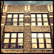 Betsy Ross Elementary, 6059 S Wabash Ave in Washington Park. Opened 1937, closed 2013. Named for the woman who made the first American flag. Photographed Monday, Aug. 26, 2013 with an iPhone and the Instagram filter Brannan. (Brian Cassella/Chicago Tribune) B583150507Z.1 <br /> ....OUTSIDE TRIBUNE CO.- NO MAGS,  NO SALES, NO INTERNET, NO TV, CHICAGO OUT, NO DIGITAL MANIPULATION...