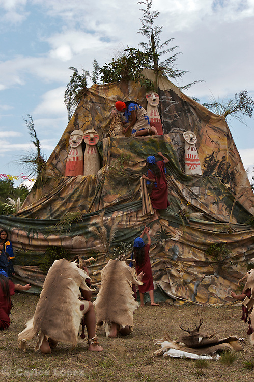 THEATRICAL SHOW  THAT REPRESENT HOW THE CULTURE CHACHAPOYAS COULD HAVE BURIED THIER DEATHS INSIDE THOSE SARCOPHAGUS AND THEN PUT THEM IN THE MIDDLE OF A MOUNTAIN., .   The Hatun Luya is a festival celebrated every september 13th, where everyone from the surrounding areas comes together. During this festivity, you can witness demonstrations of popular customs.