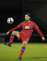 Fotball<br /> England<br /> Foto: Colorsport/Digitalsport<br /> NORWAY ONLY<br /> <br /> Football<br /> Bristol Rovers vs Aldershot Town, Carling Cup 1st Round, Memorial Stadium, Bristol, UK<br /> Chris Blackburn of Aldershot Town <br /> 11/08/2009