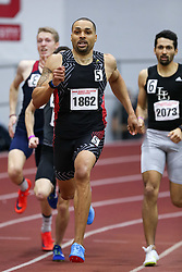 Tyrone Ross, etg, 500, wins<br /> Boston University Athletics<br /> Hemery Invitational Indoor Track & Field