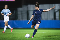 Charlotte Bilbault of France during football match between Slovenia and France in 2nd round of Women's world cup 2023 Qualifying round on 21 of September, 2021 in Mestni stadion Fazanerija, Murska Sobota, Slovenia. Photo by Blaž Weindorfer / Sportida