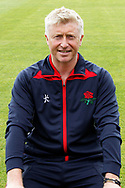 Lancashire County Cricket Club PhotoCall 2017 at Old Trafford, Manchester, England on 31 March 2017. Photo by Craig Galloway.<br /> <br /> Lancashire's Head Coach Glen Chappell.