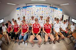 Press conference of Slovenian National Nordic teams on July 23, 2013 in SZS, Ljubljana, Slovenia. (Photo by Vid Ponikvar / Sportida.com)