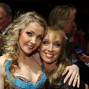 Premiere Songfestival in Concert, Brigitte Nijman en Ellen Evers