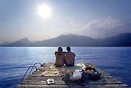 Camping Around Lago di Garda Lake, Italy