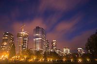 Bellevue Skyline from Downtown Park