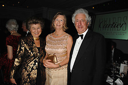Left to right, LADY SIEFF and SIR MARTYN & LADY ARBIB at the 17th annual Cartier Racing Awards 2007 held at the Four Seasons Hotel, Hamilton Place, London on 14th November 2007.<br />