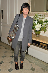 SHARLEEN SPITERI at a party to celebrate opening of Galerie Kreo in London held at Il Bottaccio, Grosvenor Place, London on 17th September 2014.