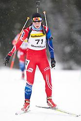 11.12.2010, Biathlonzentrum, Obertilliach, AUT, Biathlon Austriacup, Sprint Lady, im Bild Tereza Bila (CZE, #71). EXPA Pictures © 2010, PhotoCredit: EXPA/ J. Groder