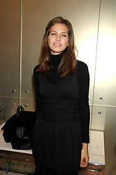 Roman Abranovich's girlfriend DARIA ZHUKOVA at a party to launch jeweller Boodles new store at 178 New Bond Street, London W1 on 26th September 2007.<br /><br />NON EXCLUSIVE - WORLD RIGHTS